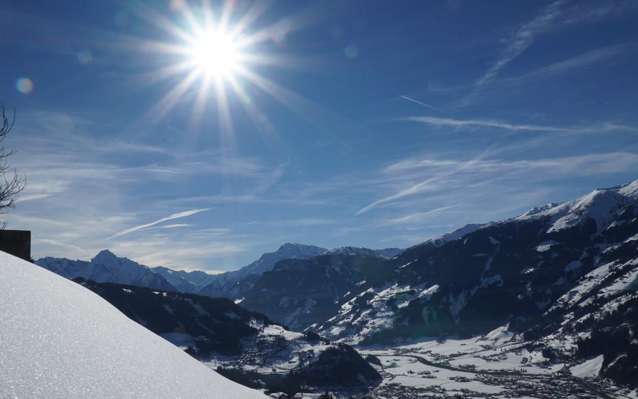 Aussicht über die Zillertaler Alpen