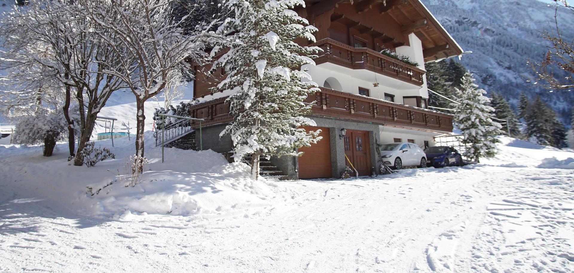 Apartment Bergblick Winter
