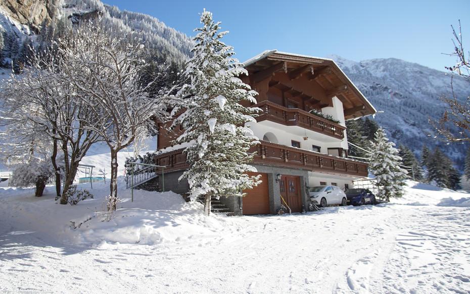 Apartment Bergblick im Winter
