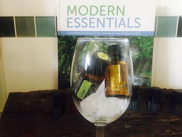 Lemon on the rocks: keep your essential oils cool