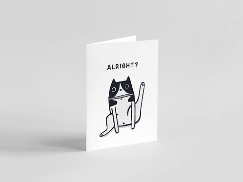 Alright? Cat A6 Card