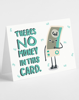 No Money In This Card