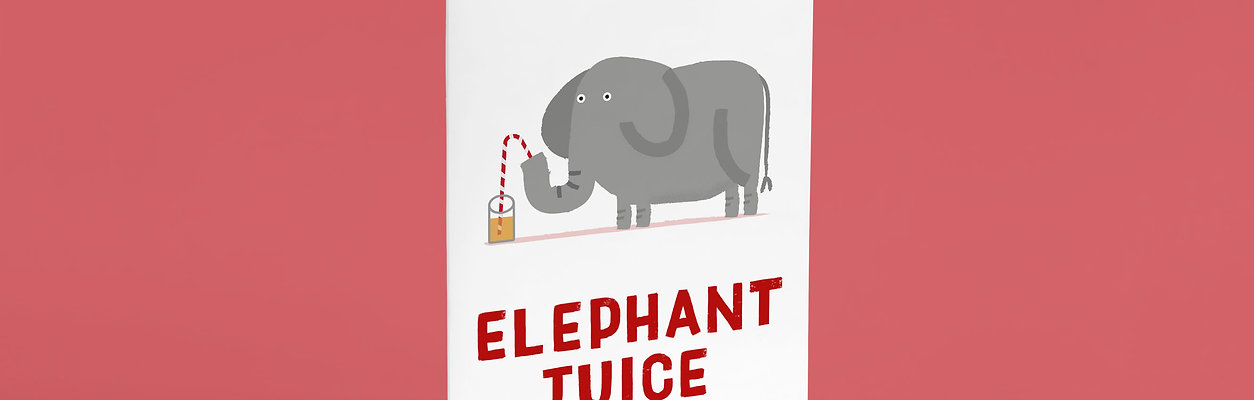 Elephant Juice A6 Card