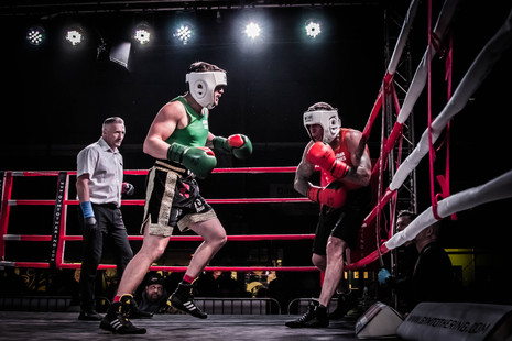 Boxing Match (From the Gym to The Ring)
