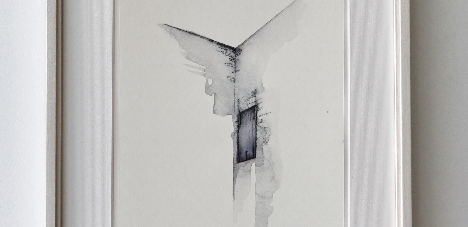 Porta della Rocca - Esempio di cornice