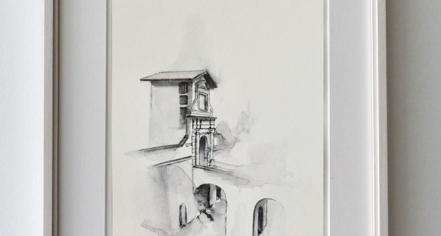 Porta San Lorenzo - Esempio di cornice