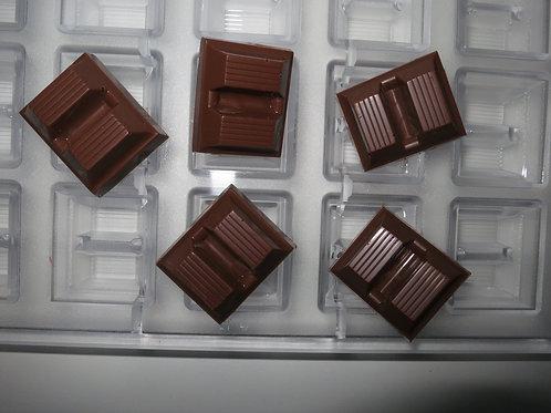 Profi Schokoladenform aus Polycarbonat Artikel Nr. 206