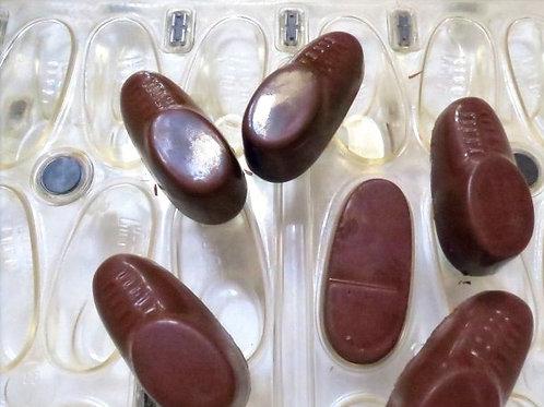 gebrauchte Kunststoff-Schokoladen-Form Nr. 8022