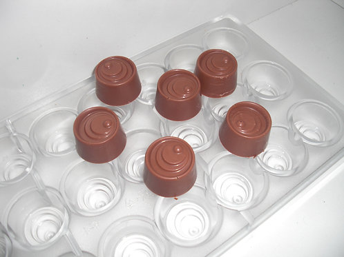 Profi Schokoladenform aus Polycarbonat Artikel Nr. 149
