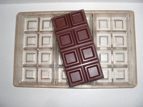 Gebrauchte Kunststoff Schokoladenform #9017