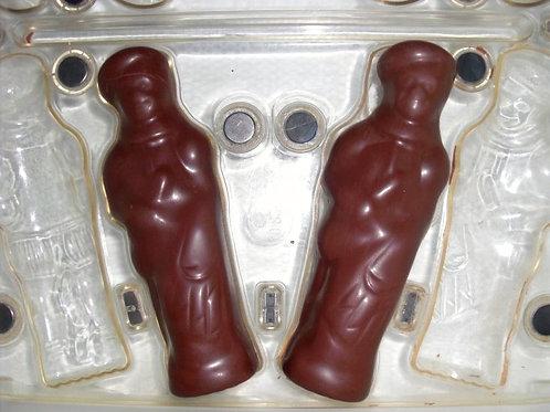 gebrauchte Kunststoff-Schokoladen-Form Nr. 8005