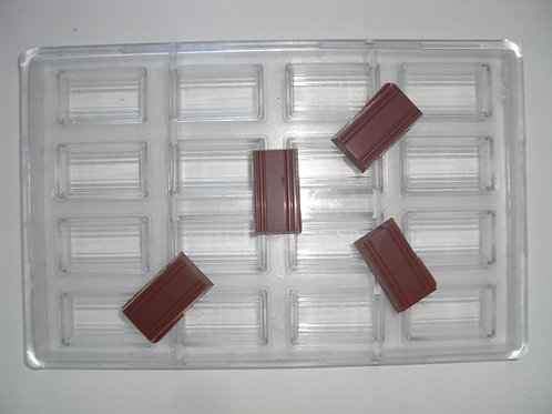 Professionelle Schokoladenform Nr. 42