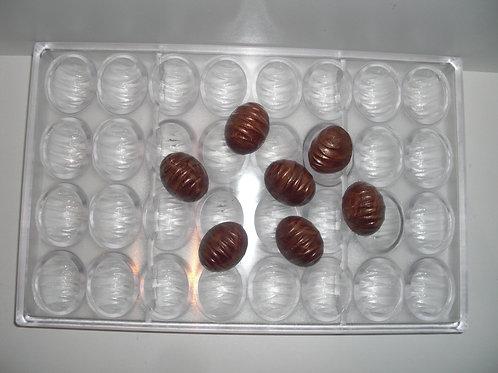 Profi Schokoladenform aus Polycarbonat Artikel Nr. 293