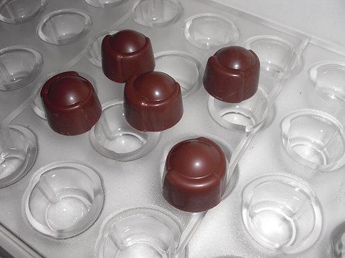 Profi Schokoladenform aus Polycarbonat Artikel Nr. 282