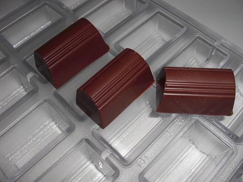 Profi Schokoladenform aus Polycarbonat Artikel Nr. 194
