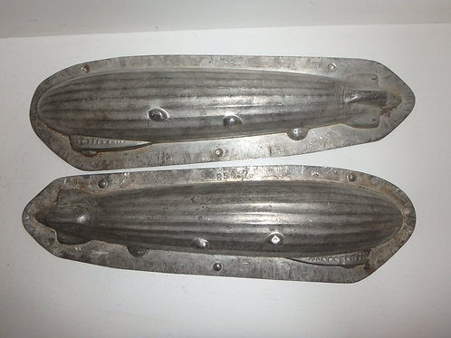 25647 Antike Schokoladenform ZEPPELIN Luftschiff ANTON REICHE