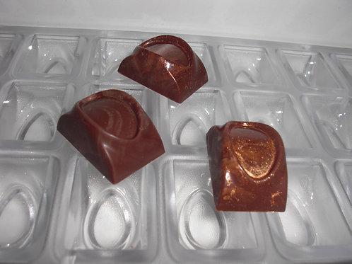 Profi Schokoladenform aus Polycarbonat Artikel Nr. 276