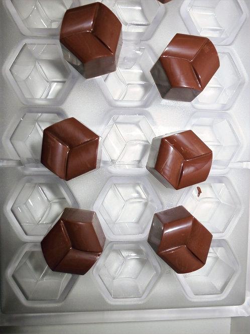 Professionelle Schokoladenform Nr. 244