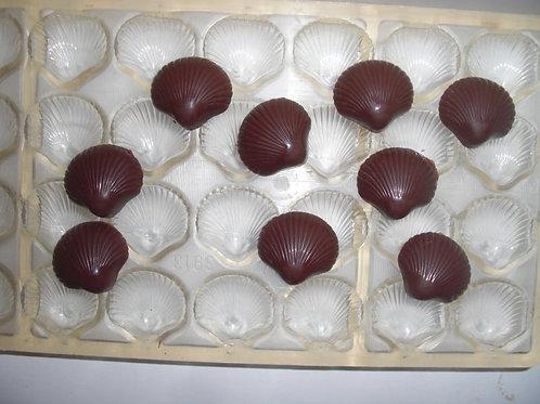 Gebrauchte Kunststoff-Schokoladen-Form Artikel 9043