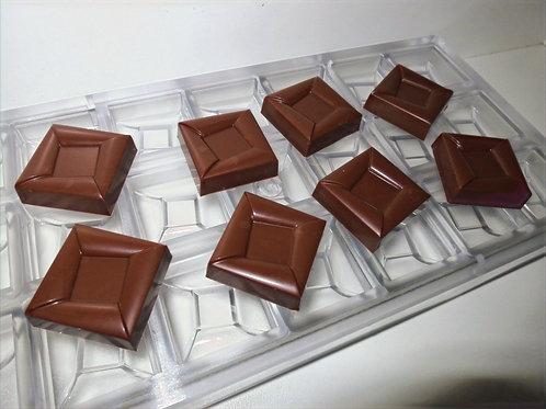 Professionelle Schokoladenform Nr. 254