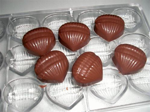 Profi Schokoladenform aus Polycarbonat Artikel Nr. 062