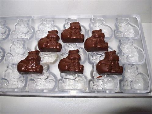 Professionelle Schokoladenform Nr. 252