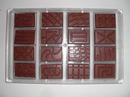Profi Schokoladenform aus Polycarbonat Artikel Nr. 080
