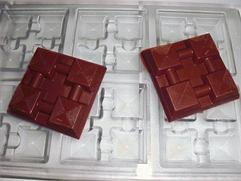 Professionelle Schokoladenform Nr. 166
