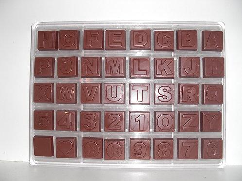 Profi Schokoladenform aus Polycarbonat Artikel Nr. 221