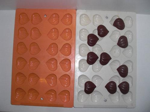 Gebrauchte Kunststoff-Schokoladen-Form Artikel 9079