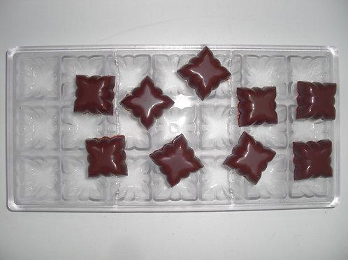 Profi Schokoladenform aus Polycarbonat Artikel Nr. 128