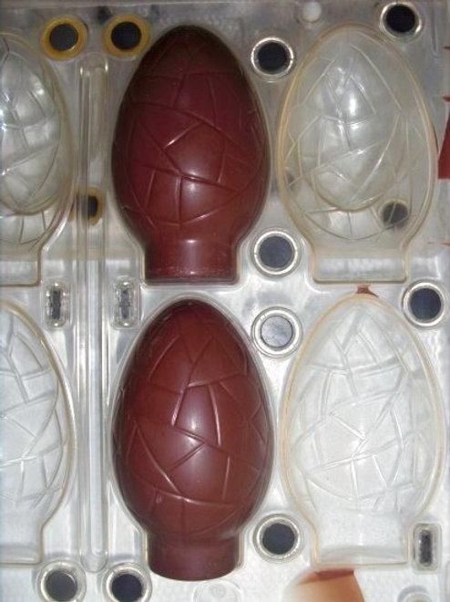 gebrauchte Kunststoff-Schokoladen-Form Nr. 8007