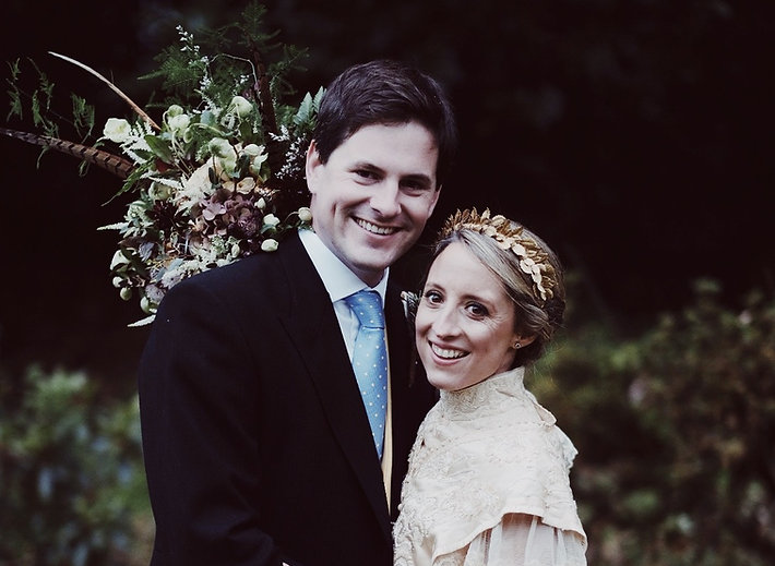 Vintage Edwardian wedding dress