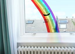 Rainbow Window Sticker