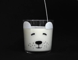 Polar Bear Glass DIY