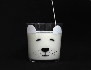 Polar Bear Glass DIY