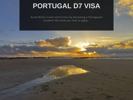 Applying for a National D7 visa for Portugal