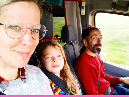 A day in the (van) life of Those Weirdos