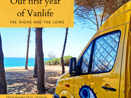 Our first year of Vanlife - the Highs and Lows!