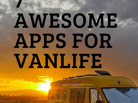7 Awesome Apps for Vanlife!