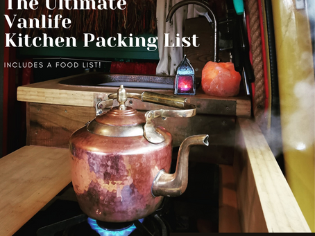 The Ultimate Vanlife Kitchen Packing List