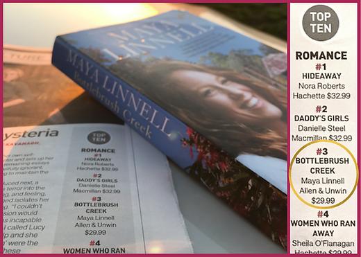 Sunday Age bestseller list Bottlebrush C