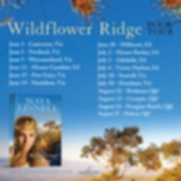 Wildflower Ridge Book Tour Maya Linnell.