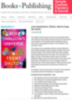 Books+Publishing bestseller charts June