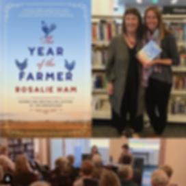Maya Linnell with Rosalie Ham author