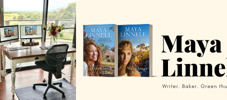 Maya's October Newsletter with a giveaway, writing tips and great news
