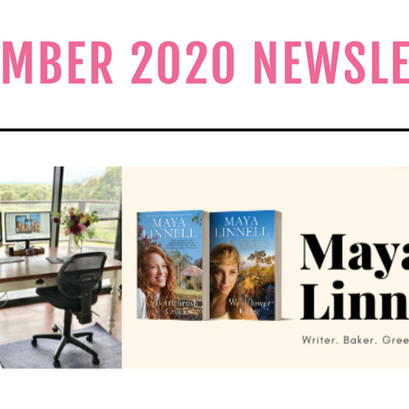 Maya's November newsletter with Chris Hammer, a ripper giveaway and award news