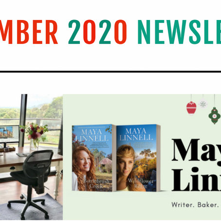 December newsletter with giveaways and Christmas updates