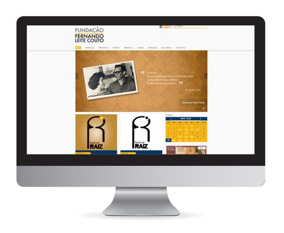 Gestão de website