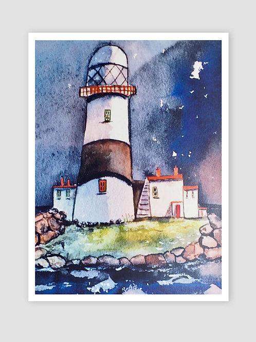 The Maidens Lighthouse, Irish Sea